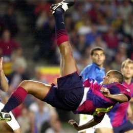 Rivaldo in gol