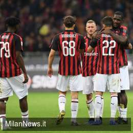 Milan in Europa League con 68 punti