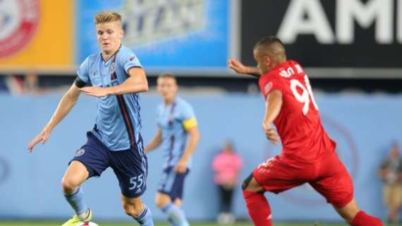 Keaton Parks won't return to New York City FC in 2020