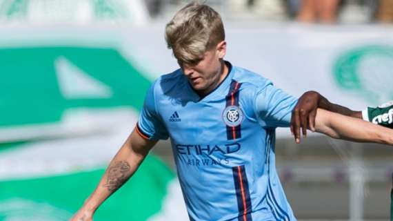 Keaton Parks Named NYCFC's Young Player of the Year for 2020