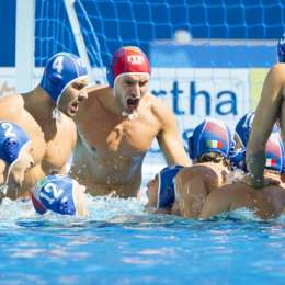 World League 2016: Italia-Turchia 14-4