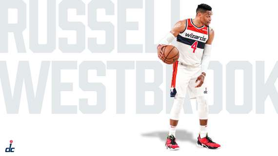 NBA Social - A Washington, Russell Westbrook cambia numero