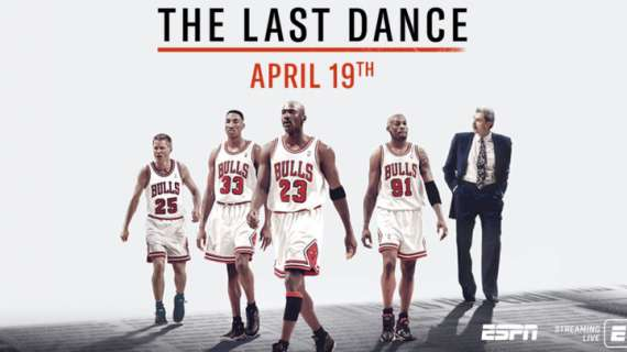 NBA - The Last Dance ha chiuso con una media di 5,65 milioni di spettatori