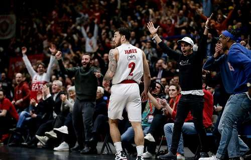 EuroLeague - Round 26 MVP: Mike James, AX Armani Exchange Olimpia Milan