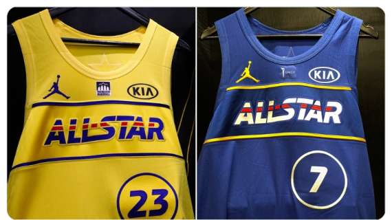 NBA All-Star Game - Presentate le divise ufficiali