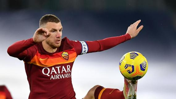 Dzeko offerto in Premier League dalla Roma: pochi riscontri
