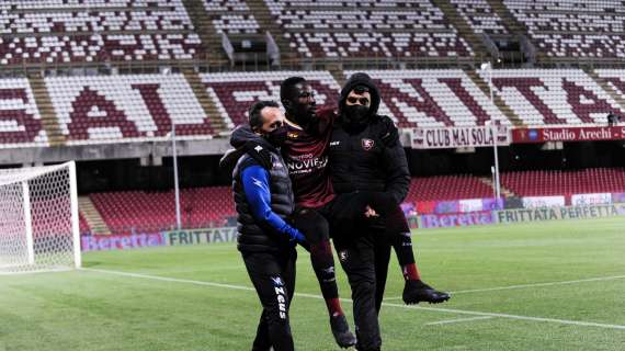Salernitana, Coulibaly vicino al rientro. Le ultime